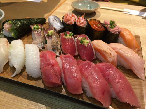 東京銀座の高級寿司食べ放題がコスパ◎で素晴らしすぎた!攻略法も